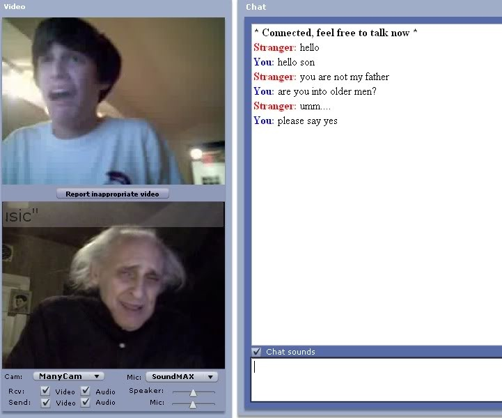 Grandad is ready-24 Hilarious Chatroulette Chats That Will Make You Laugh Out Loud