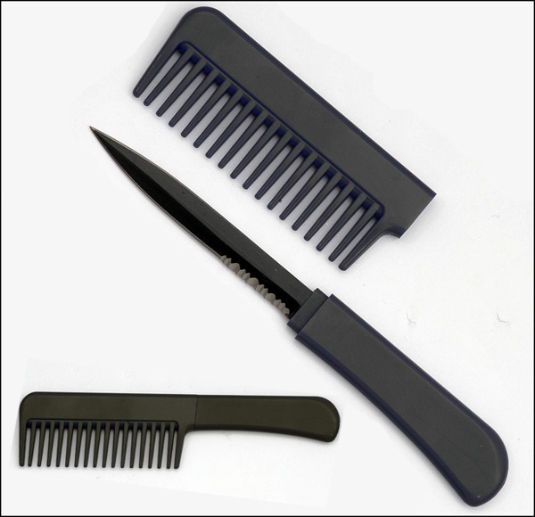 Comb Knife-Craziest Things Found By Airport Security
