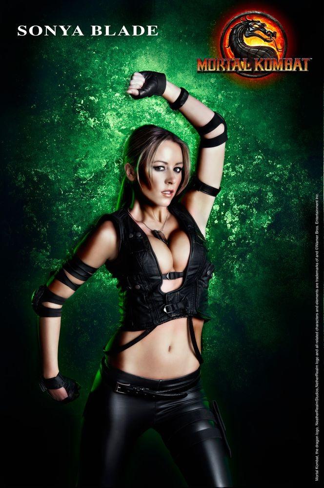 Sonya Blade-Best Mortal Kombat Cosplays
