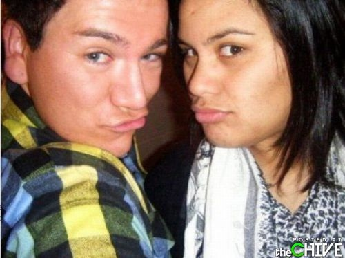No Contest-Stupid Guys Doing Duck Face