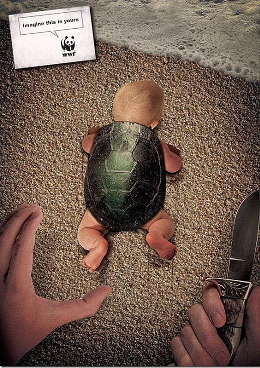What If That Were Your Baby?-24 Creative WWF Ads
