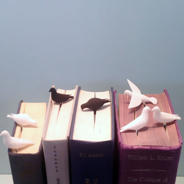 Cute Pigeon Bookmark-15 Bookmarks You Must Have If You Are A Bookworm