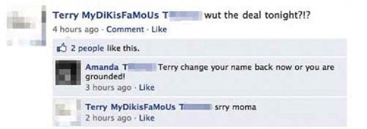 TerryYourMomIsOnFacebook-15 Images That Show You Shouldn't Add Your Mom On Facebook