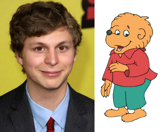 Michael Cera As Brother Bear-24 Cartoons Voiced By Celebrities
