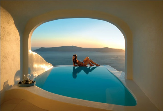 Katikies Hotel, Greece-Most Amazing Hotels Around The World