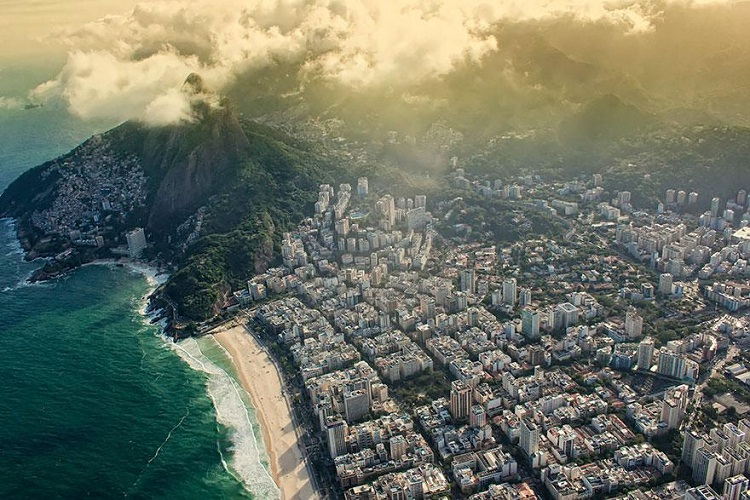 Rio De Janeiro-How Our World Appears To A Bird