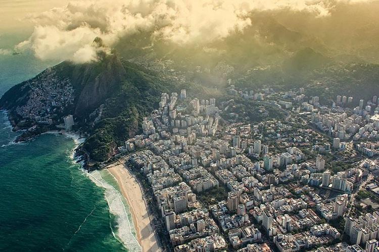 Rio De Janeiro-How Our World Appears To A Bird