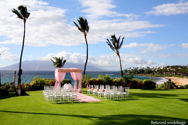 Wailea, Maui-24 Most Beautiful Wedding Locations In Hawaii
