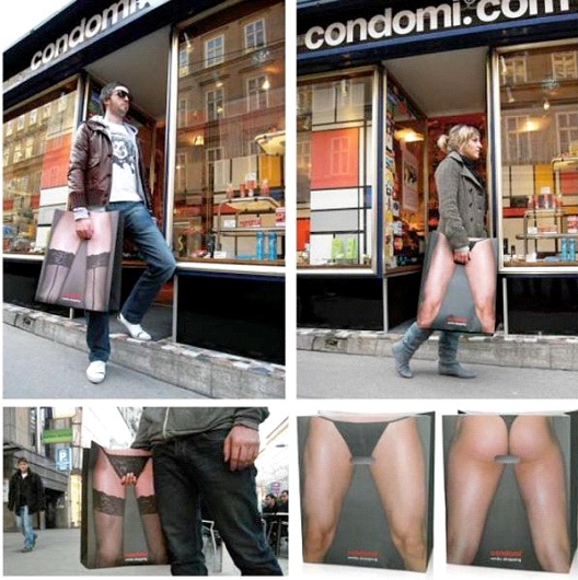 New Legs-24 Most Creative Bag Ads
