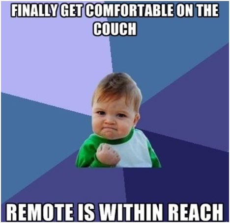 Remote Is Within Reach-Photos That Will Make You Say 'Every Damn Time'