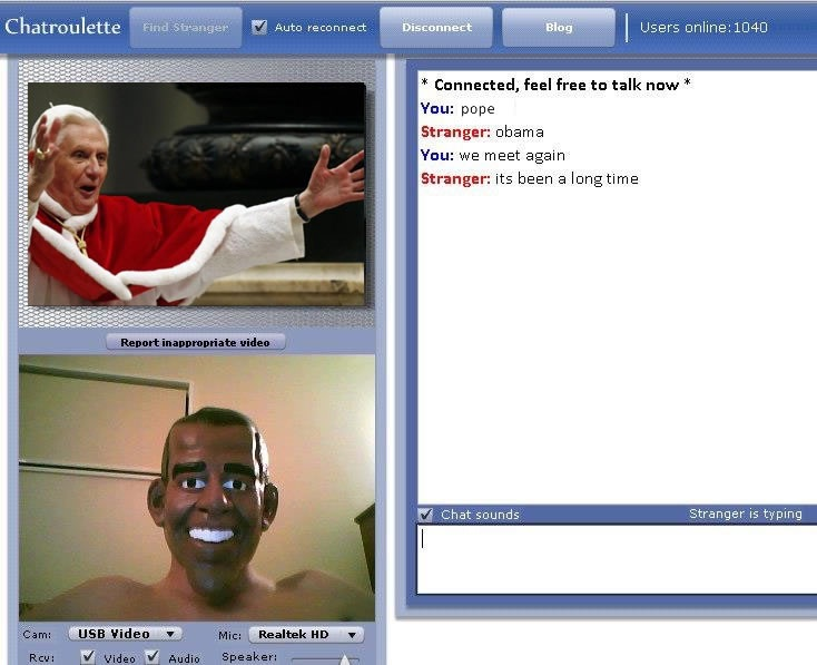 World leaders unite-24 Hilarious Chatroulette Chats That Will Make You Laugh Out Loud