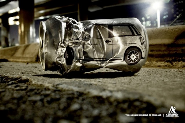 Don't drink and drive-Most Creative Ads Ever
