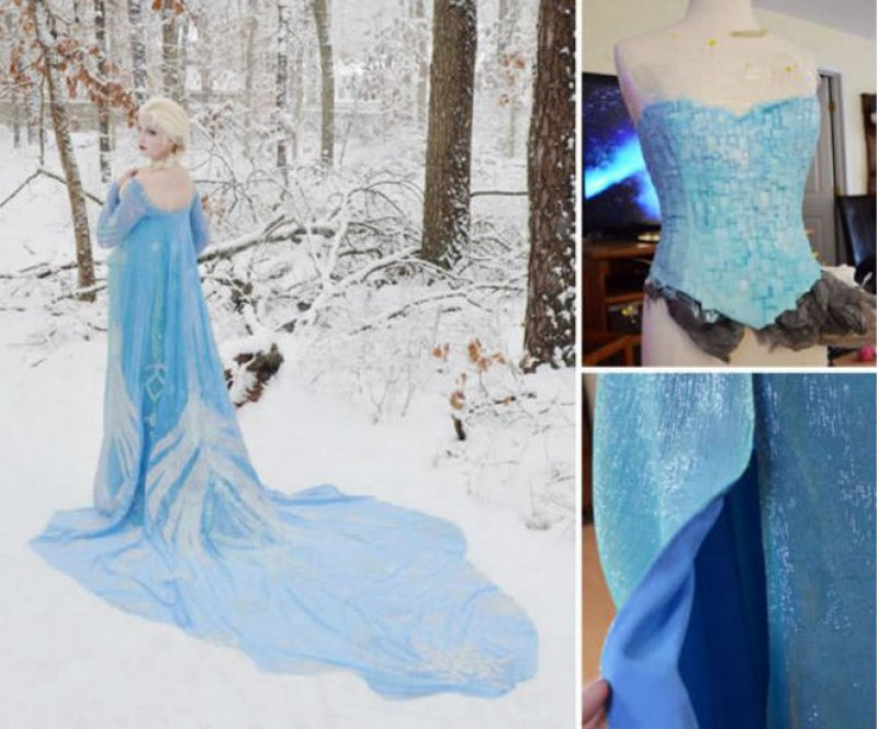Elsa (Frozen) Cosplay Dress-Meet The Girl Who Sews Her Own Cosplay Dresses
