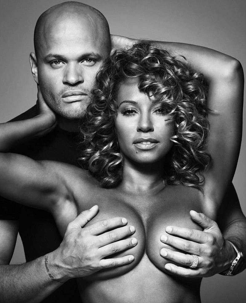 Mel B - Breast Cancer Awareness-15 Celebrities Who Have Stripped For Charity