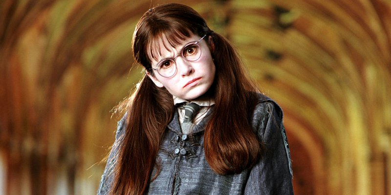 Moaning Myrtle-15 Things You Probably Don't Know About Harry Potter Movies