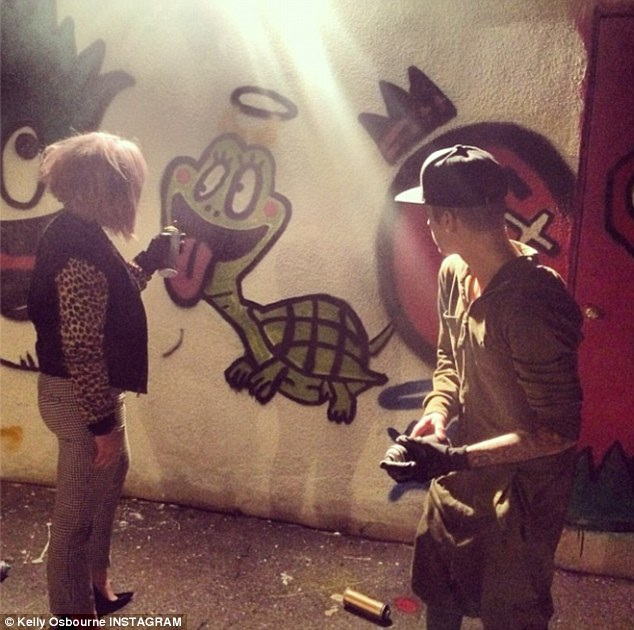 Kelly Osbourne-Most Disgusting Instagram Photos