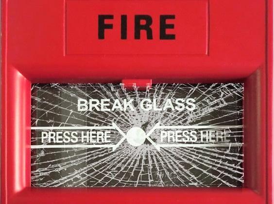 Break glass to sound alarm-36 Weirdest Websites On The Internet