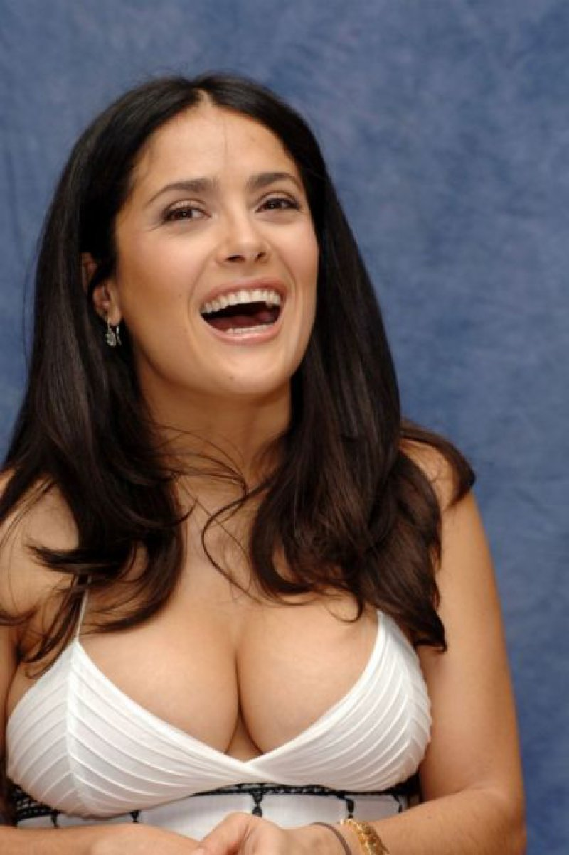 Salma Hayek's Nursing Addiction-15 Celebrities And Their Bizarre Addictions