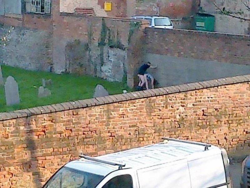 The graveyard-15 Dumb People Having Nasty Sex In Public