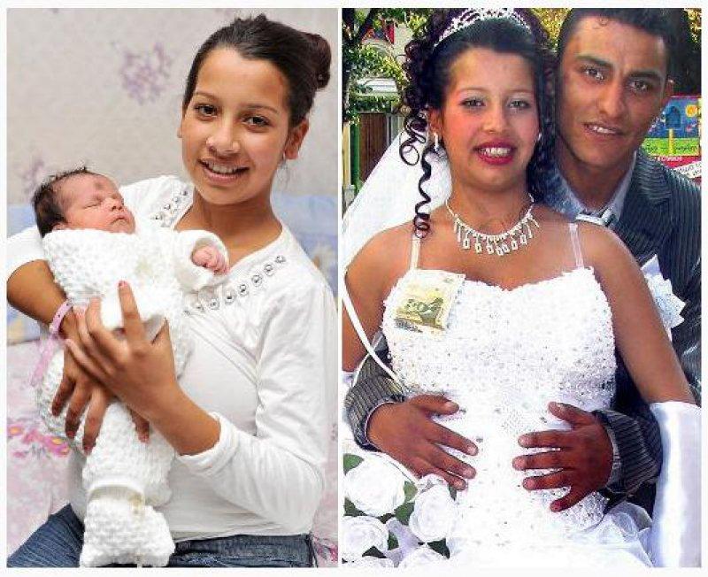 Kordeza Zhelyazkova and Jeliazko Dimitrov, Bulgaria-9 Youngest Parents Ever