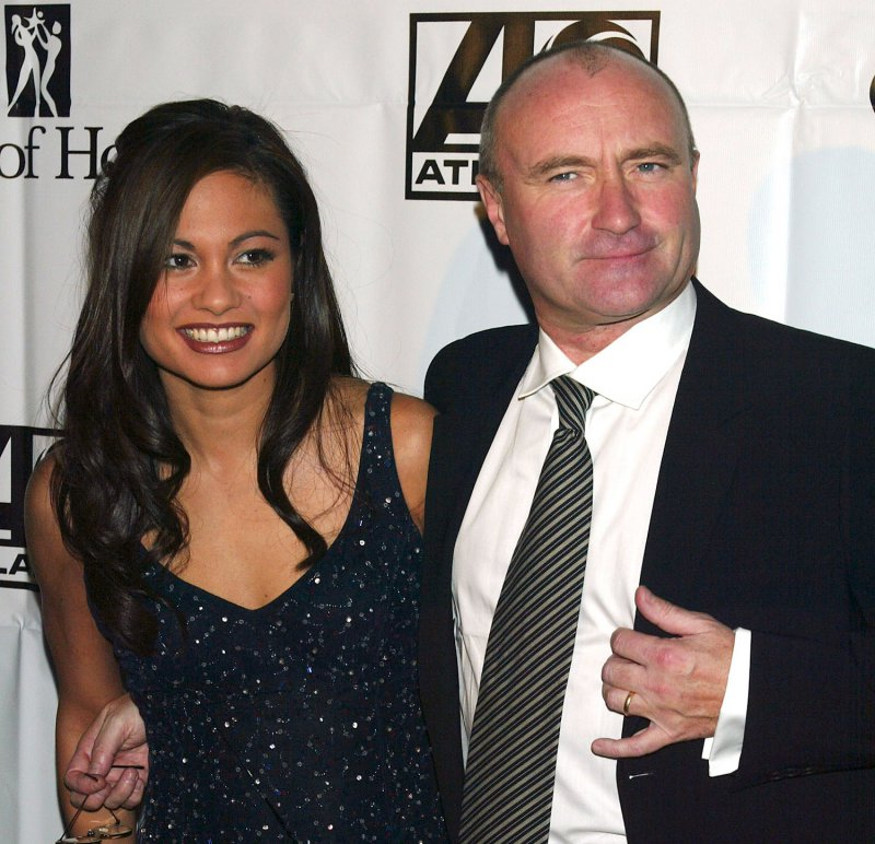 Phil Collins and Orianne Cevey-12 Most Expensive Celebrity Divorces Ever