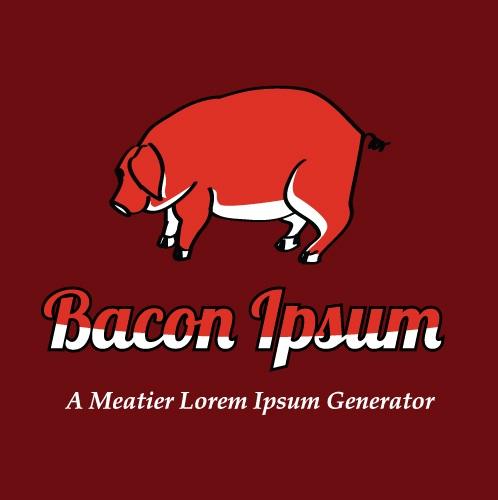 Bacon ipsum-36 Weirdest Websites On The Internet