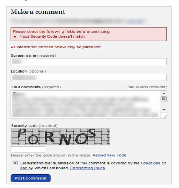 Checked computer history?-Most Hilarious Captchas