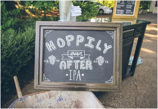 Hoppily Ever After-12 Funniest Wedding Signs Ever Seen