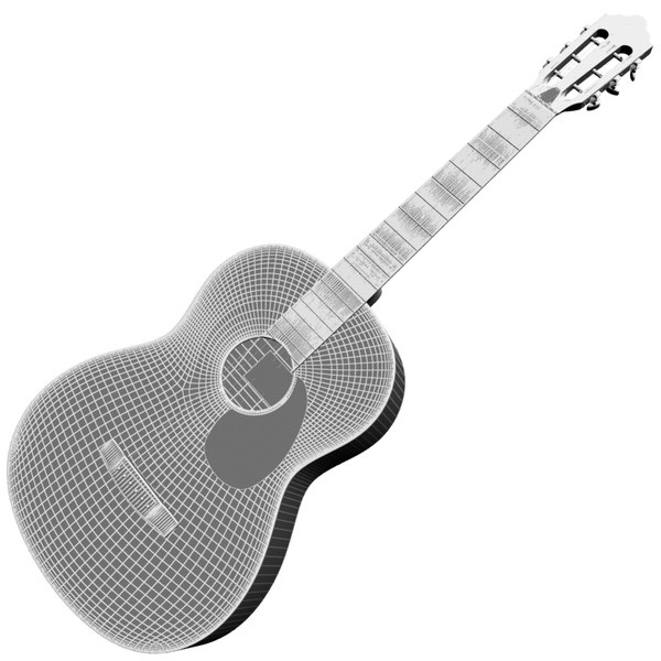 Acoustic guitar-Cool Things To Make With 3d Printer