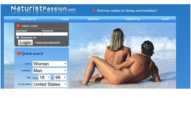 Naturist Passion -Nudist Dating-Most Bizarre Dating Websites