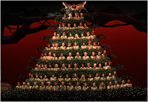 Singing Christmas Tree-Most Amazing Christmas Trees From Around The Globe