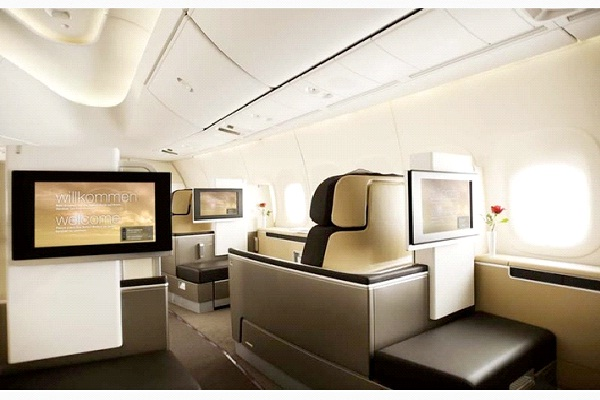 Lufthansa Airlines-Most Luxurious Airlines