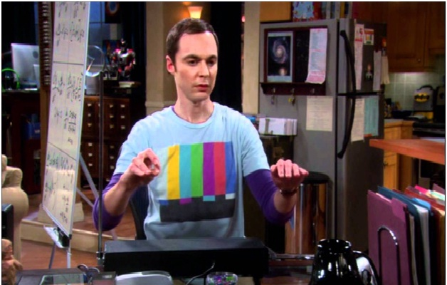 Sheldon Playing the Theremin-15 Things You Didn't Know About The Big Bang Theory