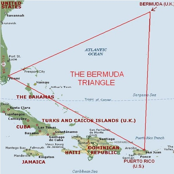 Bermuda Triangle-Most Mysterious Places In The World