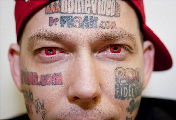 Faceboard-Disgusting Advertisement Tattoos