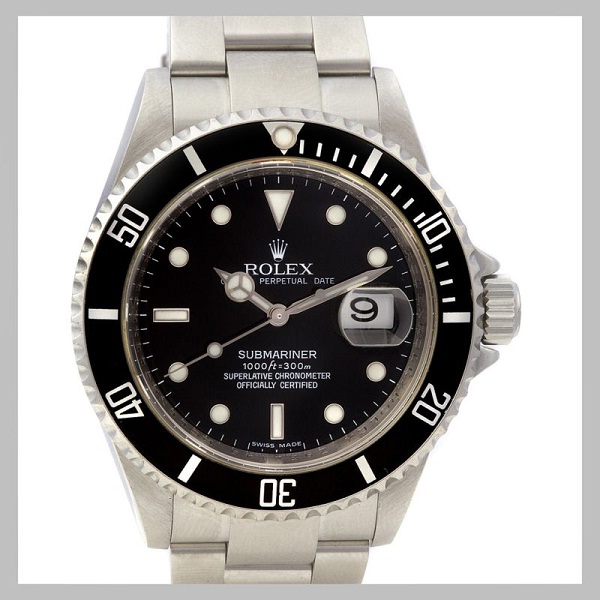 Central date window-How To Spot A Fake Rolex