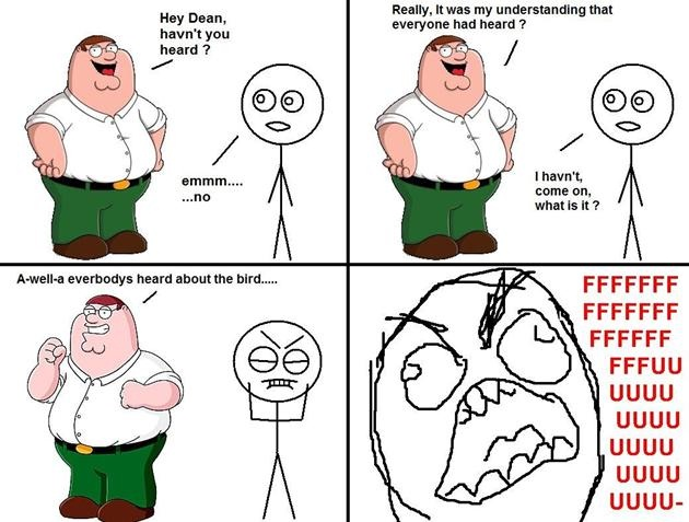 Very annoying-12 Funniest Family Guy Memes
