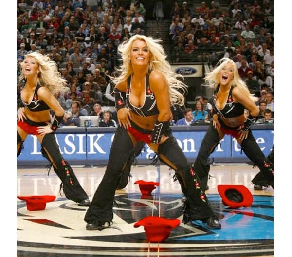 San Antonio Spurs Silver Dancers-Hottest Cheerleader Squads