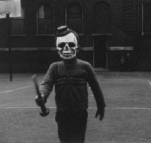 Don't Beat Me-Most Terrifying Vintage Halloween Costumes Ever