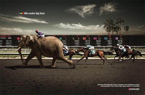 A fast elephant-Most Creative Ads Ever