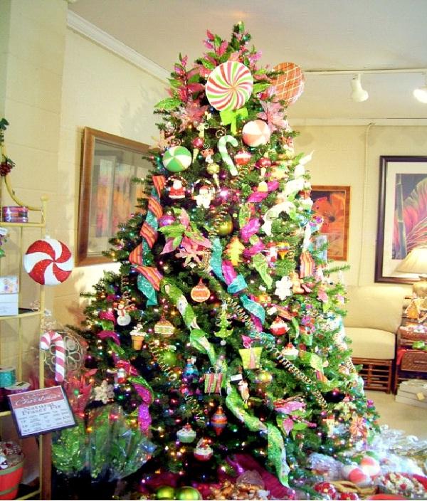 Swirls-Christmas Decoration Ideas