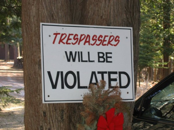 Trespassers Told For Once and For All-12 Funniest Typos Ever Made