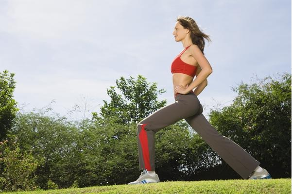 Do lunges-How To Get A Thigh Gap