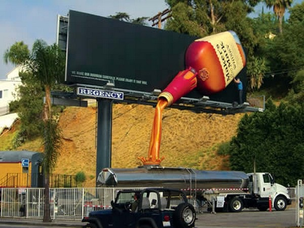 Gimme a drink!-Brilliantly Clever Billboard Ads