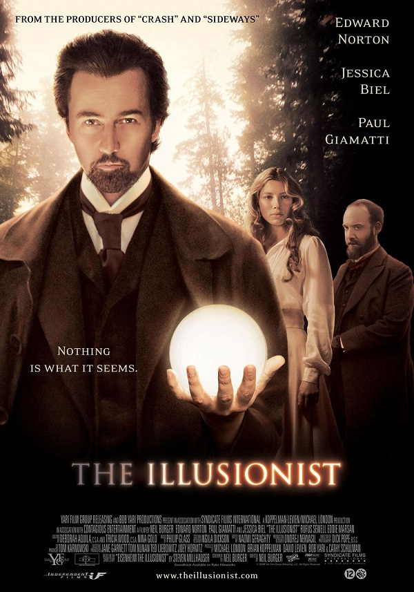 The Illusionist-Best Movies About Magic/magicians