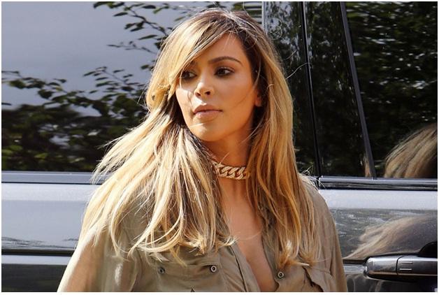 Kim Kardashian-Celebrities Who Don't Wear Makeup