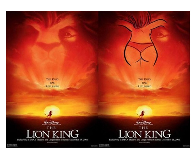 The Lion King-15 Disney Subliminal Messages That Will Blow You Away