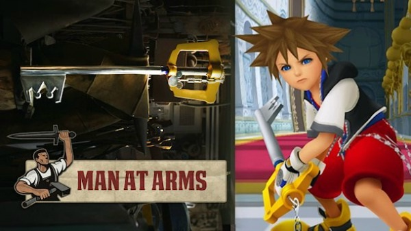 Sora's Keyblade-Virtual World Weapons In Reality