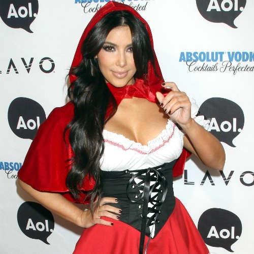 Kim Kardashian-Celebrities In Hot Halloween Costumes