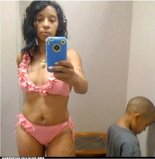Bikini Selfie-Worst Moms Ever